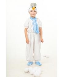 Детский костюм снеговичка - Все детские костюмы, арт: 8136
