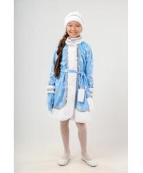 Детский костюм юной Снегурочки