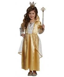 Костюм золотой принцессы: платье (Германия)