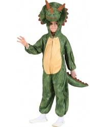 Детский костюм динозавра (трицератопс)