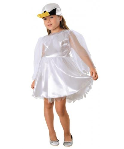 Костюм лебедя: платье, шапочка (Польша)