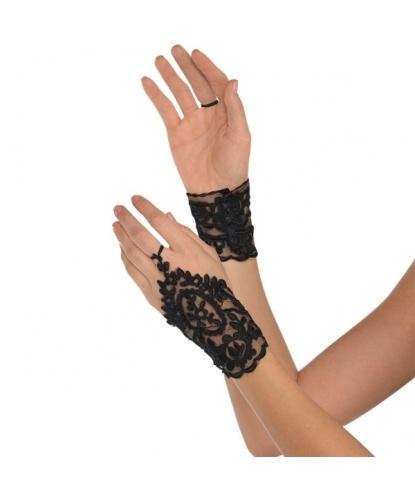 Короткие кружевные перчатки на один палец (Германия)