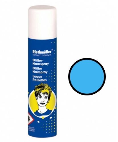 Спрей-краска голубая (синяя) для волос, 100 мл (Германия)