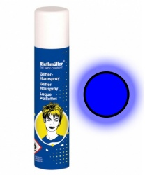Спрей-краска синяя неоновая