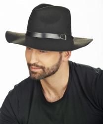 Черная мужская шляпа