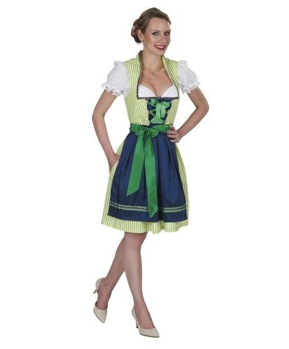 Баварский женский костюм: топ, сарафан, фартук (Германия)