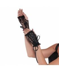 Кружевные перчатки без пальцев - Перчатки, арт: 8229