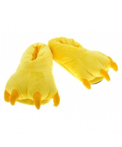 Тапочки Лапы желтые (Китай)