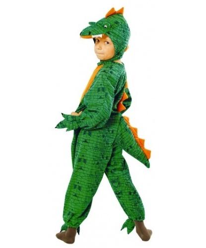 Детский костюм дракона (комбинезон): комбинезон, головной убор (Польша)