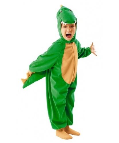 Костюм крокодила (детский): комбинезон, капюшон (Польша)