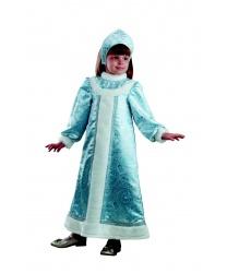 Детский костюм снегурочки шелковый