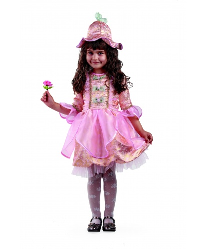 Детский костюм Дюймовочка : платье, головной убор (Россия)