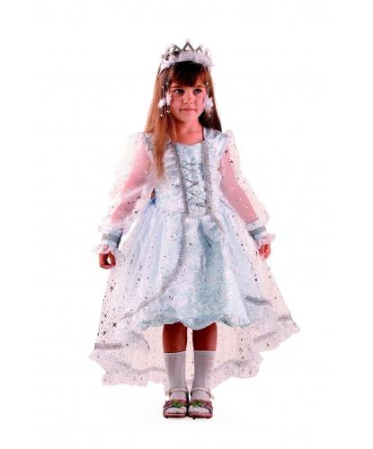 Костюм Снежинка Принцесса: платье, диадема (Россия)