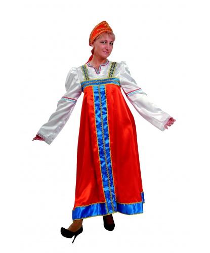 Костюм Марья-искусница: сарафан, кокошник (Россия)