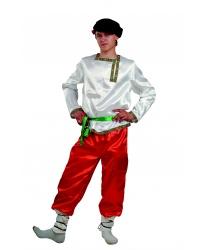 Костюм Ванюшка: рубаха, брюки, картуз, пояс (Россия)