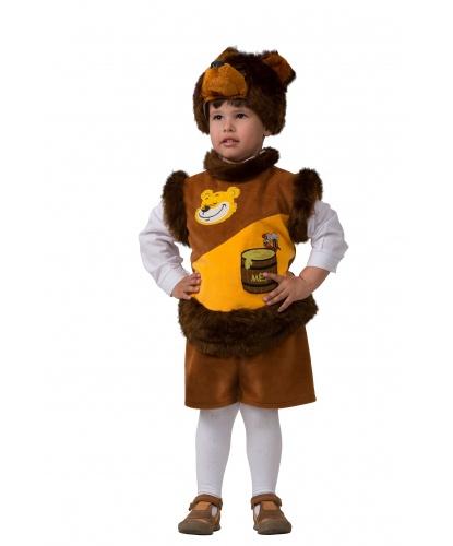 Детский костюм Мишка с медом: шапка, безрукавка, шорты (Нидерланды)
