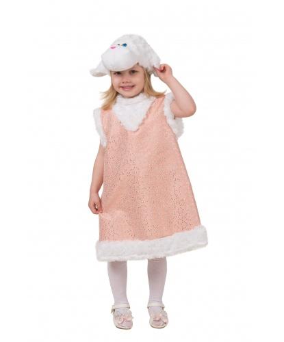 Костюм на девочку Овечка Карамелька: сарафан, шапочка (Россия)
