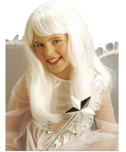 Парик ангела, детский: белый (Италия)