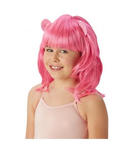 Детский парик Пинки Пай (My Little Pony): розовый (Германия)