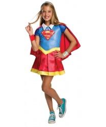 Детский костюм Supergirl: платье, накидка (Германия)