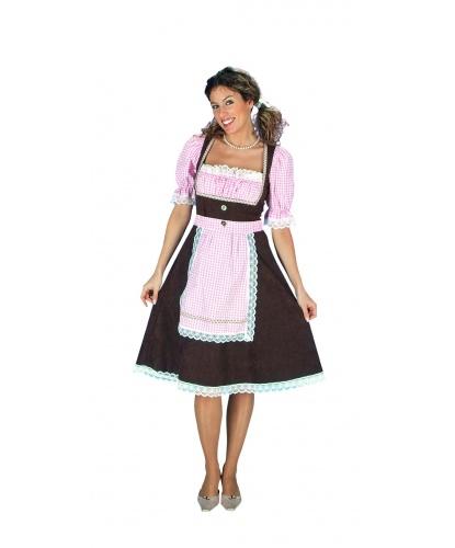 Тирольский костюм: платье, фартук (Германия)