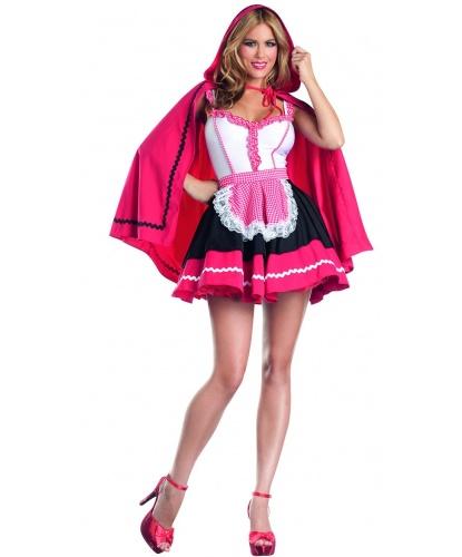Костюм Красной Шапочки: платье, накидка с капюшоном (Германия)