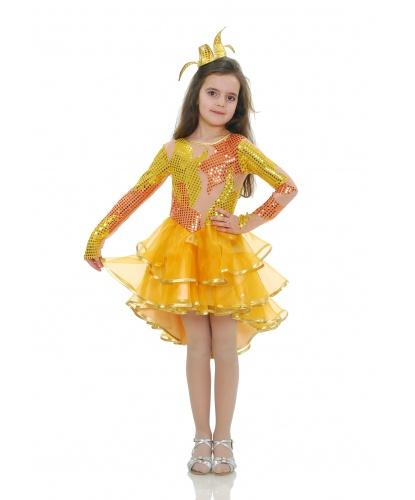 Костюм Золотой рыбки: платье, корона (Украина)