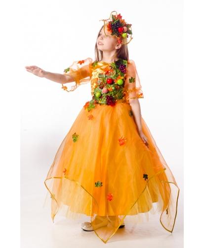 Костюм осени урожайной : платье, украшение для волос (Украина)