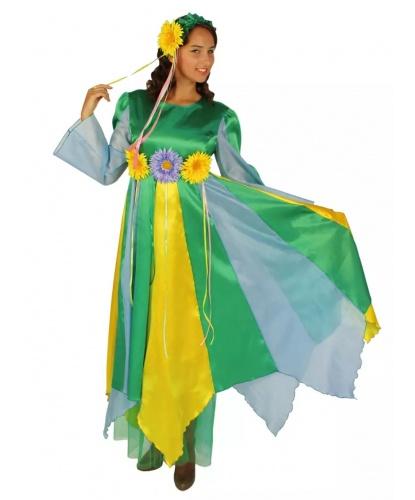 Костюм Весна: платье, повязка на голову (Россия)