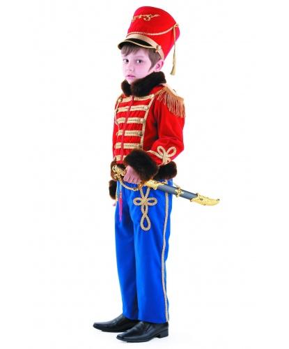 Костюм гусарского офицера: мундир, брюки, кивер, сабля (Россия)