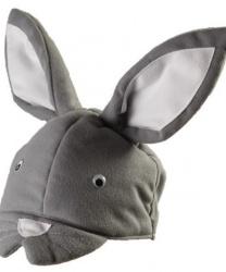 Шапочка серого кролика