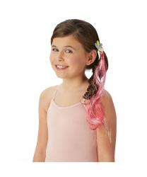 Цветная прядка на резиночке Пинки Пай