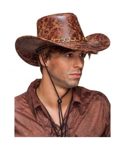 Ковбойская шляпа с металлической цепочкой (Германия)