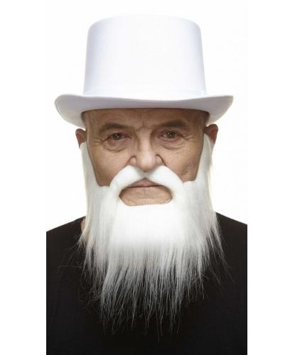 Белая борода с усами (пр-во Литва)