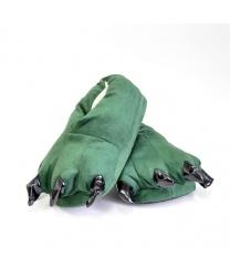 Тапочки Лапы зеленые