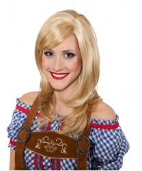 Парик блондинки с челкой : золотистый блонд (Германия)