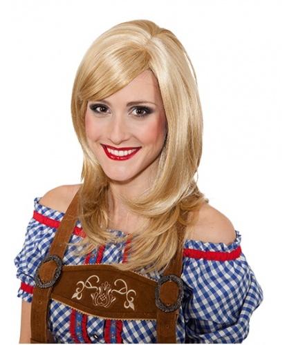 Парик блондинки с челкой : блонд (Германия)