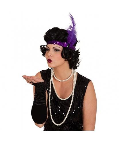 Фиолетовая повязка на голову: фиолетовый (Германия)