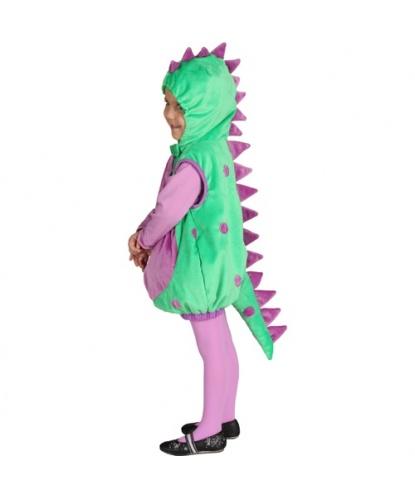 Детский костюм Динозаврика: жилетка с капюшоном (Германия)