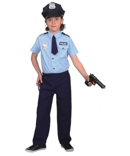 Детская форма полицейского: рубашка, брюки (Германия)