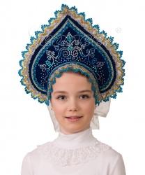 Кокошник  Полярное сияние  - На голову, арт: 8414