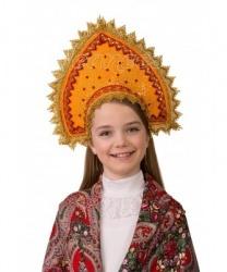 Кокошник  Янтарный  - На голову, арт: 8416