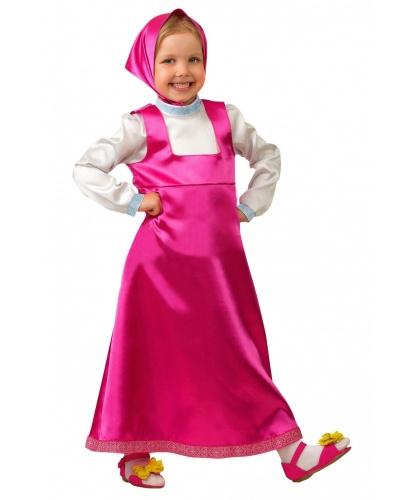 Рубаха-сарафан для девочки, платок