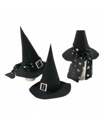 Колпак ведьмы с серебряной пряжкой, детский