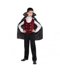 Детский костюм вампира на Хэллоуин