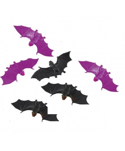 Летучие мыши для декорирования (12х4 см)