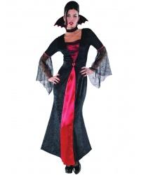 Взрослое длинное платье  вампирши