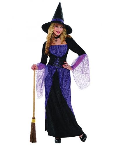 Костюм Злая ведьма: платье, шляпа (Германия)
