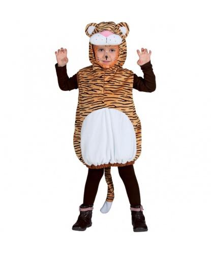 Детский костюм тигрёнка: жилетка с капюшоном (Германия)