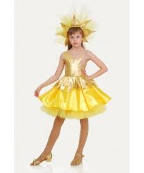 Костюм солнышка: юбка, блузка, головной убор (Украина)